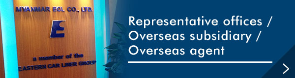 Representative offices / Overseas subsidiary / Overseas agent